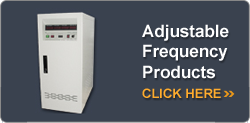 Adjustable Frequency Products