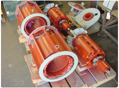 Remanufactured Synchronous Motor  & Generator Components